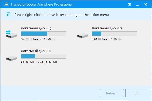 Hasleo BitLocker 7.5.2.0 Anywhere